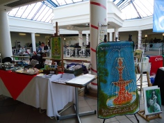 Our stall at the Green Fair held in the Prospect Centre on 17th November 2012