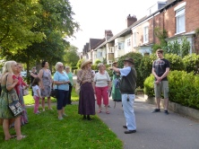 Avenues Heritage Walk 8th September 2012